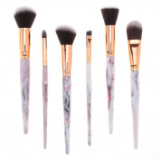 . Makeup Brush Set, Deloito 6PCS/7PCS Resin Hand Cosmetic Brush Foundation Eyebrow Eyeliner Blush Concealer Beauty Kit