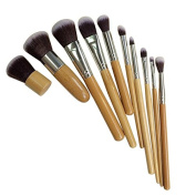 Make Up Brushes, Starall Beauty Makeup Cosmetic Brush Set Kit with Bamboo Handle