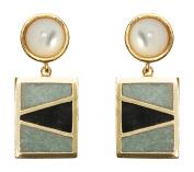 Lizzie Fortunato Relic Earrings in Gold