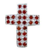 Fashion Elegant Design Silver Cross Pendant