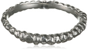 Ros Millar Plated Silver Fine Stacking Band Ring