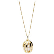 Silver Necklace with Pendant Silver Plated Freshwater Pearl ST1121 Trends