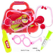 Imitation Medicine Cabinet Toy,Mamum Kids Baby Doctor Medical Play Carry Set Case Education Role Play Toy Kit Gift