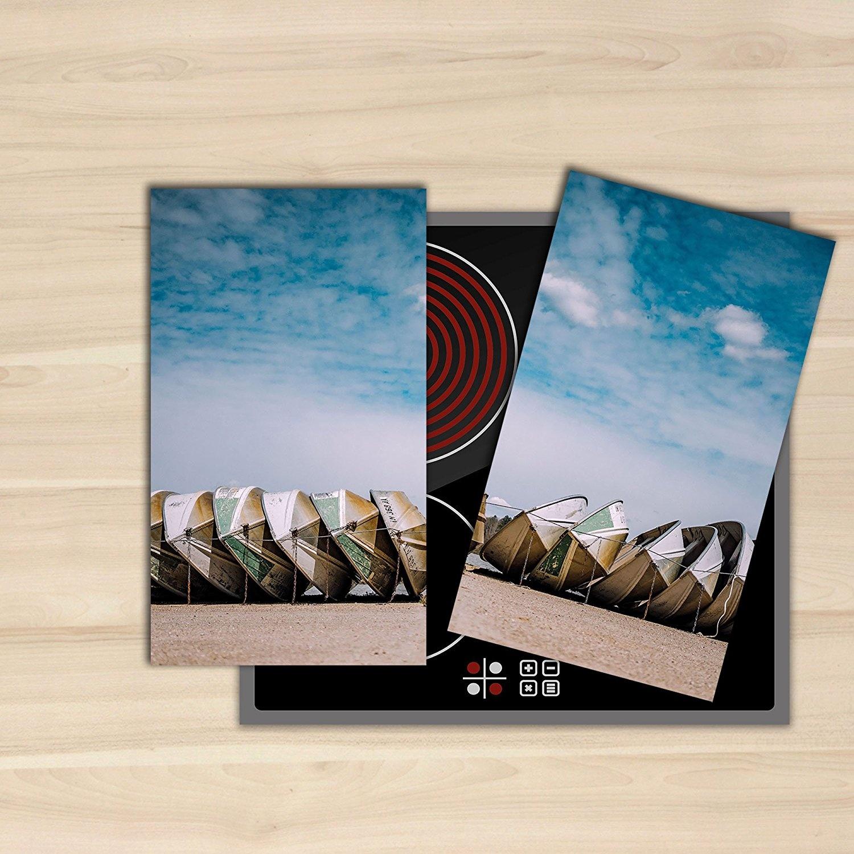 Home Decor | Hob Covers 2 x 30 x52 cm Induction Ceramic Hob ...