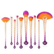 Deloito 5pcs/7pcs/10pcs Pro Makeup Brushes Set Foundation Powder Eyeshadow Eyeliner Lip Beauty Makeup Brushes