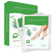 2 Pairs Foot Peel Mask, Get Soft Feet in 1-2 Weeks lavender, Exfoliating Calluses and Dead Skin Remover by Vena Beauty