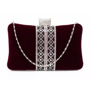 Stunning Luxury Purple Sparkly Crystal Evening Clutch Purse | FREE UK DELIVERY | SAVE 50%