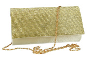 Purse woman ROMEO GIGLI pochette gold for ceremonies with strass VN1328