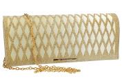 Purse woman ROMEO GIGLI pochette gold for ceremonies VN1353