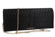 Purse woman ROMEO GIGLI pochette black for ceremonies VN1354