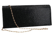 Purse woman ROMEO GIGLI pochette black for ceremonies with strass VN1351