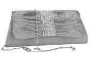 Purse woman ROMEO GIGLI pochette silver for ceremonies VN1347