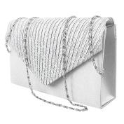Women Clutch Bag Diamante Envelope Handbag Evening Shoulder Bags for Party