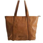 Jennifer Jones - präsentiert von ZMOKA® Women's Cross-Body Bag Brown Cognac