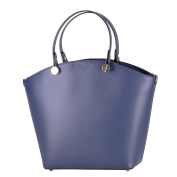 BORDERLINE - 100% Made in Italy - Genuine Leather Woman Bag - TANIA -