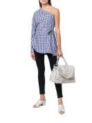 Zanellato Women's 61343459 White Leather Handbag