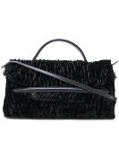 Zanellato Women's 656811D2 Black Velvet Handbag