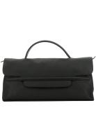 Zanellato Women's 6517P602 Black Leather Handbag