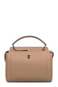 Fendi Women's 8BN2935QLF3.8l Brown Leather Handbag