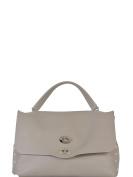 Zanellato Women's 61345101 Grey Leather Handbag