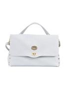 Zanellato Women's 613460A8 Light Blue Leather Handbag