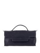 Zanellato Women's 65173435 Blue Leather Handbag