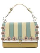 Fendi Women's 8BT283OY7F09DS Multicolor Leather Handbag