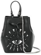 Kenzo Women's F852SA603L2299 Black Leather Handbag