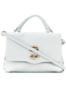 Zanellato Women's 626360A8 Light Blue Leather Handbag