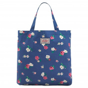 Cath Kidston SMALL Kids Foldaway Shopping Bag in Blue Hampstead Ditsy Design