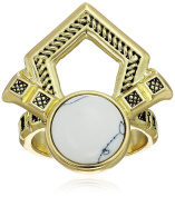 House of Harlow 1960 Patolli Statement Ring, Size 7