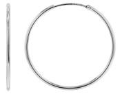 trendor Silver Hoop Earrings 32 mm 08465