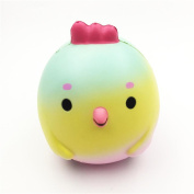 GreatestPAK Squishy Cute Chicken Baby Squeeze Toys, Slow Rising Cream Scented Decompression Cure Squishies Toy Lovely Gift