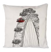 London Eye, Pillow Case, Cushion Cover, Home Sofa Décor