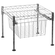 2 in 1 fruit and vegetable rack and shelf- compact design- colour