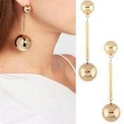 Bescita Fashion New Women Bling Ball Earrings Long Chain Drop Dangle Earrings Jewellery