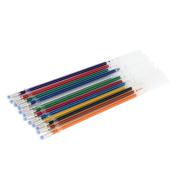 Winkey Stationery ,12pcs Gel Pens Gel Refills Rollerball Pastel Neon Glitter Pen Drawing Colours
