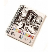 A5 Drawing & Sketching Pad 135gsm 120 Pages