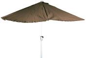 OutdoorA River Cottage Gardens 821050BRWN Crank Umbrella, 2.7m, Brown [Istilo283657]