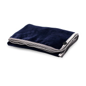 Premium Polyester Blanket,29(in)×43(in),100% 300 GSM Microfiber Polyester, Machine Washable, Super Soft & Cosy, Blue