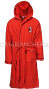 Bathrobe with Hood Milan Original FIGC XX-Large red