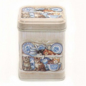 Kitchen Cats MINI Tea Caddy / Spice Tin - 7.5cm
