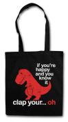 Clap Your... Oh Shopper Reusable Hipster Shopping Cotton Bag