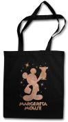 Margerita Mouse Shopper Reusable Hipster Shopping Cotton Bag