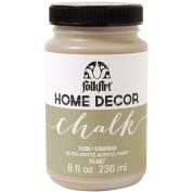 Plaid:Craft Folkart Home Decor Chalk Paint 240ml-Savannah