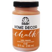 Plaid:Craft Folkart Home Decor Chalk Paint 240ml-Cinnamon
