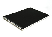 Pink Pig A4, Kids Drawing Pad | White Cartridge, 25 Leaves | Black