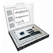 Pentel TRC1-3N-SET Tradio Calligraphy Set - Black