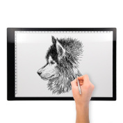 A4 LED Copy Board Tracing Light Box Tracing Light board Stencil light drawing pad box board Table Plate / LEDesigns /adjustable brightness & long USB cable Variable Dimmer/Tattoo Sketch Art Crafts