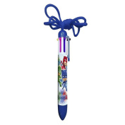 PJ Masks 6 in 1 Multicolour Pen With Cord